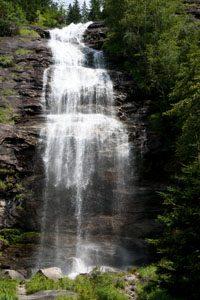 Wasserfall Quellwasser